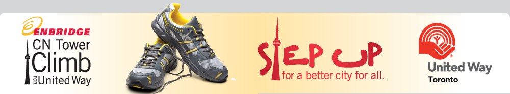 Join us for the Enbridge CN Tower Climb for United Way - October 20, 22 and 23